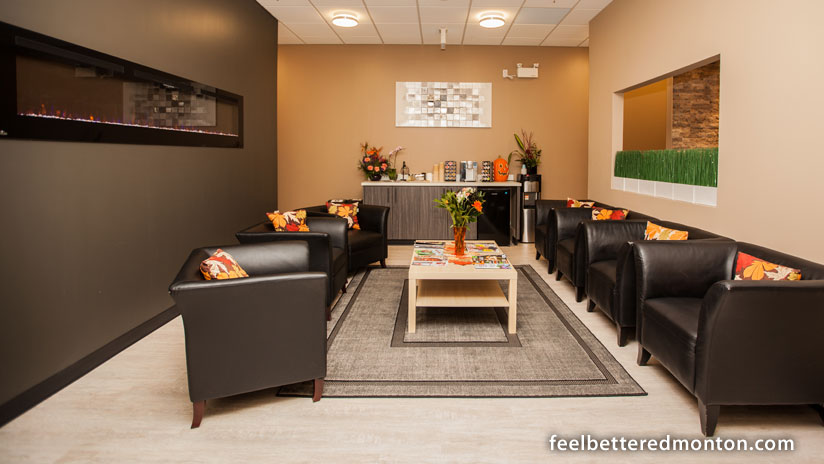 The Chiropractic Wellness Studio cozy atmosphere