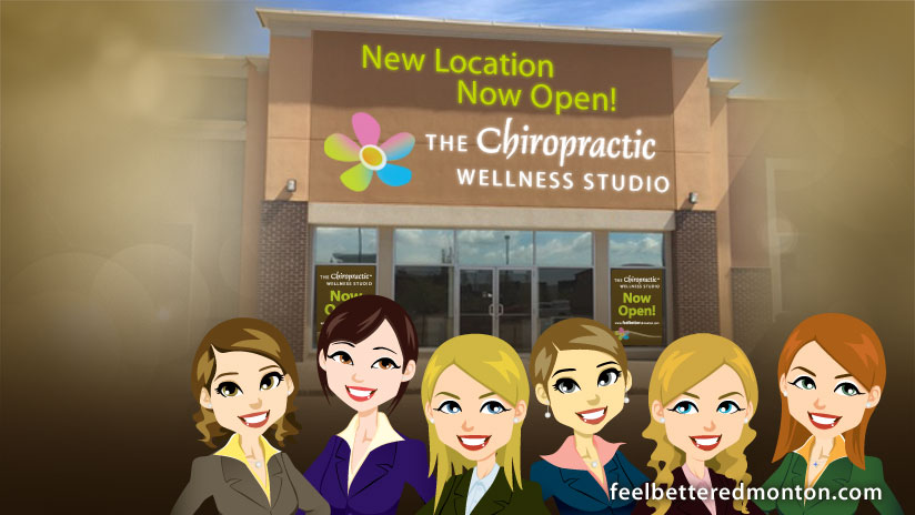 We're now open at our New Location for The Chiropractic Wellness Studio