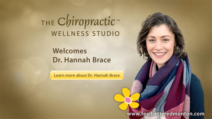 The Chiropractic Wellness Studio welcomes Dr. Hannah Brace!